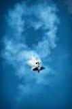 Aerobatic plane Royalty Free Stock Images