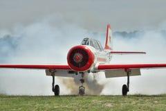 Aerobatic plane Yak-52 Royalty Free Stock Image