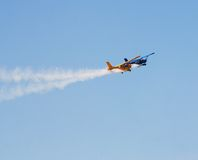 Aerobatic planes Royalty Free Stock Images