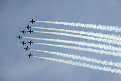 aerobatic raf βελών πολεμικής αερο Στοκ φωτογραφία με δικαίωμα ελεύθερης χρήσης