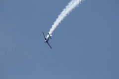 aerobatic samolot Zdjęcia Stock