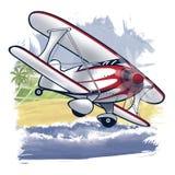 Aerobatic samolot Zdjęcia Royalty Free