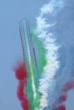 Aerobatic samolot fotografia royalty free