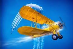 Aerobatic Stock Photo