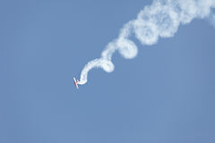 Aerobatic stunt Royalty Free Stock Images