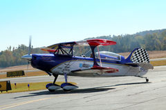 Aerobatic Stunt Plane Stock Photo
