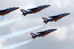 Aerobatic team Stock Photos
