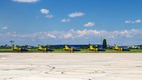 Aerobatic Team Lizenzfreies Stockbild