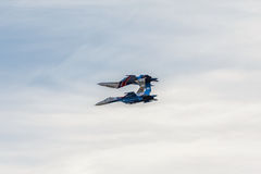 Aerobatic Team Stockbild