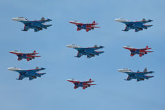 Aerobatic Team Stockfoto
