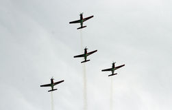 Aerobatic team Stock Images