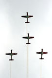 Aerobatic team Royalty Free Stock Image