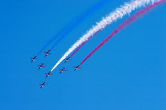 Aerobatic team at airshow Stock Photography