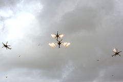 Aerobatic Team Berkut Stockbild