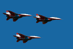 Aerobatic Team das Swifts-5 Stockbilder