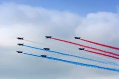 Aerobatic Team in der Aktion Lizenzfreie Stockfotografie