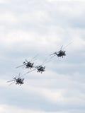 Aerobatic Team der Golden Eagles im Flug Lizenzfreies Stockbild