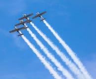 Aerobatic Team Flying Bulls Arkivfoton