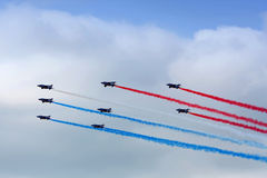 Free Aerobatic Team In Action Royalty Free Stock Photography - 73049887