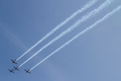 Aerobatic Team Jupiters Lizenzfreie Stockfotografie