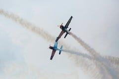 Aerobatic Team Krisakti Malaysias Lizenzfreie Stockfotografie