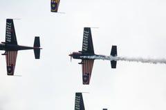Aerobatic Team Krisakti Malaysias Lizenzfreie Stockfotos
