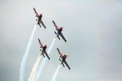 Aerobatic Team Krisakti Malaysias Stockfoto