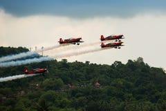 Aerobatic Team Krisakti Malaysias Stockbild