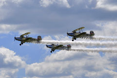 Aerobatic team Royalty Free Stock Photo