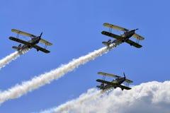 Aerobatic team Royalty Free Stock Photo