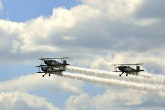 Aerobatic team Royalty Free Stock Image