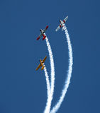 Aerobatic Team Neuseeland-Warbirds Stockbild