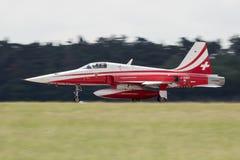 Aerobatic Team Patrouille Suisse Lizenzfreies Stockfoto