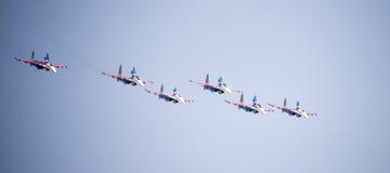 Aerobatic team Royalty Free Stock Photos