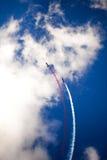 Aerobatic Team RUSS auf dem internationalen Luftfahrt und Raum salo Stockfoto