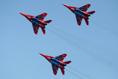 Aerobatic team the Swifts Stock Images