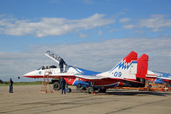 Aerobatic Team Swifts Lizenzfreie Stockbilder