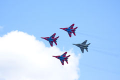 Mig 29.Fighter Stock Photos