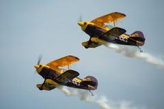 Aerobatic Team Triglyzerids Stockfotos