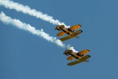 Aerobatic Team Triglyzerids Lizenzfreie Stockfotos