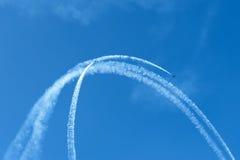 Aerobatics Arkivfoton