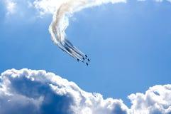 Aerobatics Arkivbild