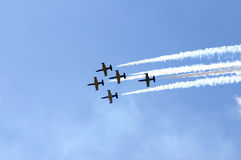Aerobatics Royalty Free Stock Photo
