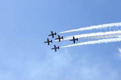 Aerobatics Royaltyfri Foto