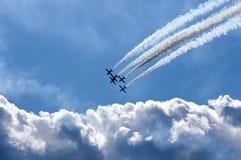 Aerobatics Arkivbilder