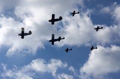 Aerobatics Arkivfoto