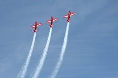 aerobatics Royaltyfria Bilder