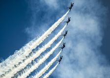 Aerobatics, Aeroplanes, Air Stock Photography