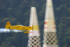 Aerobatics airplane racing Royalty Free Stock Photography