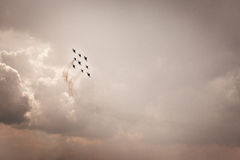 Aerobatics Stock Photography
